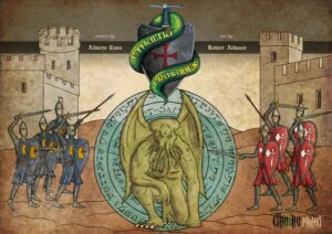 Fundas para cartas de Cthulhu Crusades