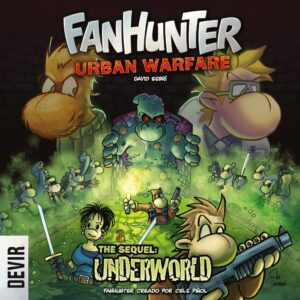 Fundas para cartas de Fanhunter: Urban Warfare 2 – The Sequel: Underworld