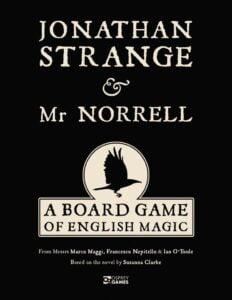 Fundas para cartas de Jonathan Strange & Mr Norrell: A Board Game of English Magic
