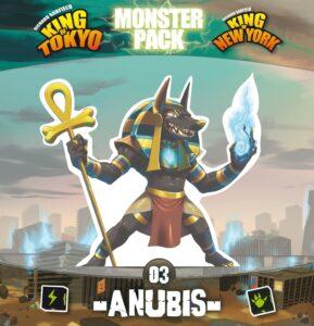 Fundas para cartas de King of Tokyo/New York: Serie Monstruos – Anubis