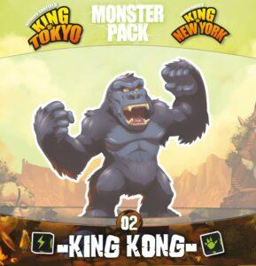 Fundas para cartas de King of Tokyo/New York: Serie Monstruos – King Kong