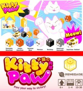 Fundas para cartas de Kitty Paw