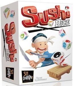 Fundas para cartas de Sushi Dice